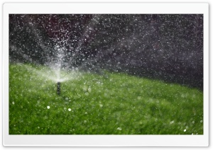 Sprinkler HD Wide Wallpaper for Widescreen