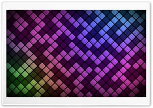 Squares Pattern HD Wide Wallpaper for Widescreen