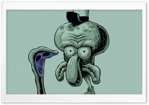 Squidward HD Wide Wallpaper for Widescreen