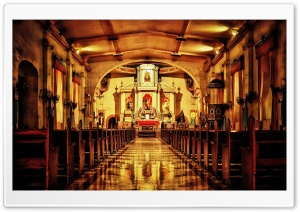 St. James the Apostle Church in the Philippines HD Wide Wallpaper for Widescreen