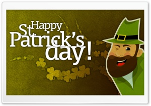 St. Patrick's Day HD Wide Wallpaper for Widescreen