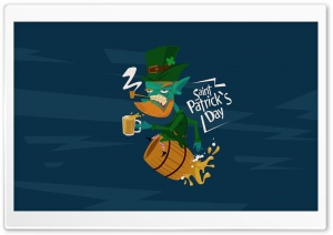 St. Patricks Day Beer HD Wide Wallpaper for Widescreen