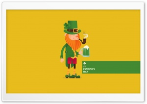 St. Patricks Day Leprechaun HD Wide Wallpaper for Widescreen