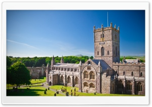St Davids Cathedral HD Wide Wallpaper for 4K UHD Widescreen desktop & smartphone