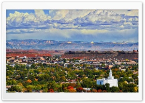 St George, Utah HD Wide Wallpaper for 4K UHD Widescreen desktop & smartphone