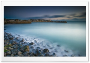 St Ives Harbour View, Cornwall Ultra HD Wallpaper for 4K UHD Widescreen desktop, tablet & smartphone