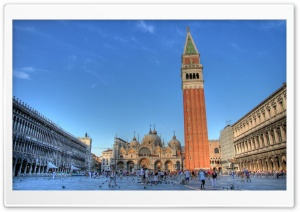 St Mark's Square, Venice, Italy HD Wide Wallpaper for Widescreen