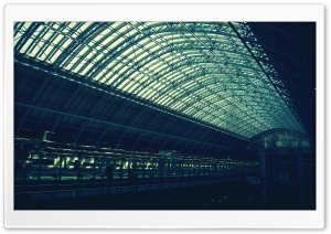 St Pancras London HD Wide Wallpaper for 4K UHD Widescreen desktop & smartphone