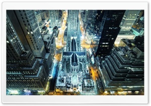 St Patrick's Cathedral New York Ultra HD Wallpaper for 4K UHD Widescreen desktop, tablet & smartphone