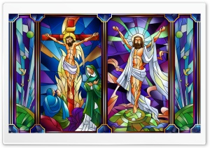 Stained Glass Ultra HD Wallpaper for 4K UHD Widescreen desktop, tablet & smartphone