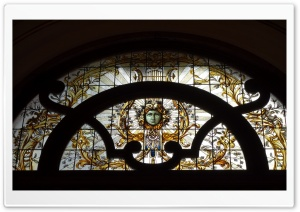 Stained Glass Art HD Wide Wallpaper for Widescreen