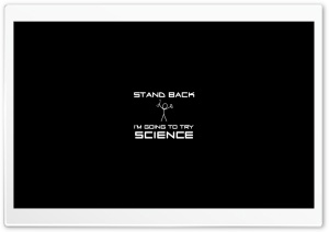 Stand Back HD Wide Wallpaper for Widescreen