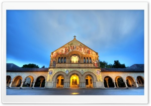 Stanford Memorial Church HD Wide Wallpaper for Widescreen