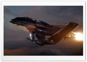 Star Citizen Aurora 300R HD Wide Wallpaper for Widescreen