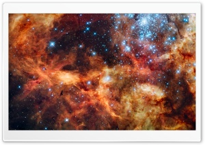 Star Cluster HD Wide Wallpaper for Widescreen