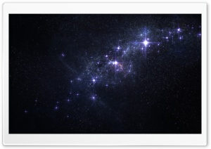 Star Clusters HD Wide Wallpaper for Widescreen