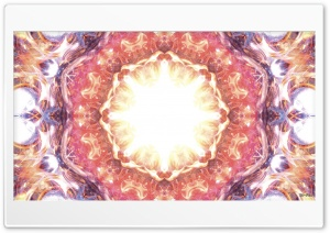 Star Flower Mandala HD Wide Wallpaper for Widescreen