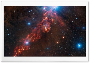 Star Formation In The Orion Nebula HD Wide Wallpaper for 4K UHD Widescreen desktop & smartphone