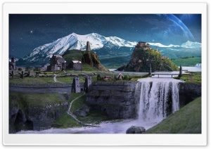 Star Land HD Wide Wallpaper for Widescreen