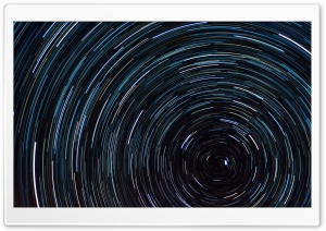 Star Trail HD Wide Wallpaper for Widescreen