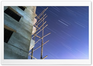 Star Trail HD Wide Wallpaper for 4K UHD Widescreen desktop & smartphone