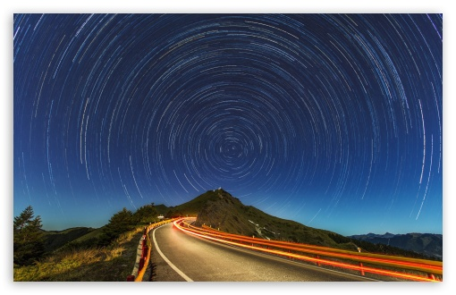 Star Trails, Mountain Road ❤ 4K UHD Wallpaper for Wide 16:10 5:3 Widescreen WHXGA WQXGA WUXGA WXGA WGA ; 4K UHD 16:9 Ultra High Definition 2160p 1440p 1080p 900p 720p ; Standard 4:3 5:4 3:2 Fullscreen UXGA XGA SVGA QSXGA SXGA DVGA HVGA HQVGA ( Apple PowerBook G4 iPhone 4 3G 3GS iPod Touch ) ; Smartphone 16:9 3:2 5:3 2160p 1440p 1080p 900p 720p DVGA HVGA HQVGA ( Apple PowerBook G4 iPhone 4 3G 3GS iPod Touch ) WGA ; Tablet 1:1 ; iPad 1/2/Mini ; Mobile 4:3 5:3 3:2 16:9 5:4 - UXGA XGA SVGA WGA DVGA HVGA HQVGA ( Apple PowerBook G4 iPhone 4 3G 3GS iPod Touch ) 2160p 1440p 1080p 900p 720p QSXGA SXGA ;
