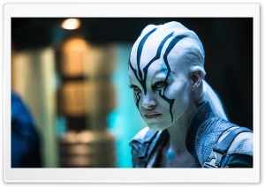 Star Trek Beyond, Sofia Boutella as Jaylah HD Wide Wallpaper for Widescreen