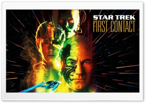 Star Trek First Contact HD Wide Wallpaper for Widescreen