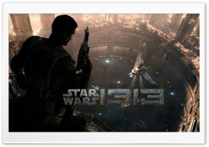 Star Wars 1313 Game HD Wide Wallpaper for Widescreen