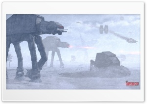 Star Wars Battle of Hoth HD Wide Wallpaper for 4K UHD Widescreen desktop & smartphone