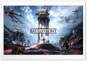 Star Wars Battlefront HD Wide Wallpaper for Widescreen