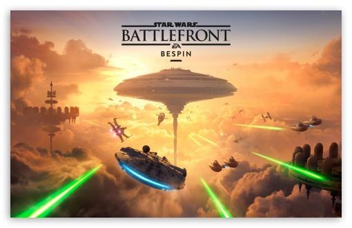 Star Wars Battlefront Bespin DLC 4K HD Desktop Wallpaper