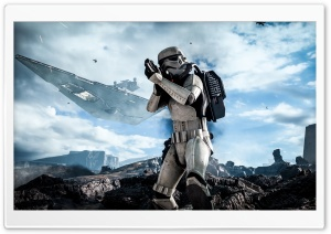 Star Wars Battlefront Stormtrooper HD Wide Wallpaper for 4K UHD Widescreen desktop & smartphone