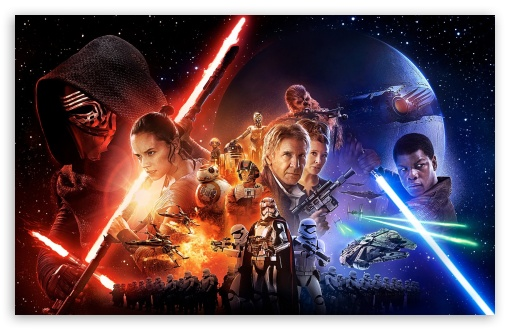 Star Wars Episode Vii The Force Awakens Ultra Hd Desktop Background Wallpaper For 4k Uhd Tv Widescreen Ultrawide Desktop Laptop Tablet Smartphone
