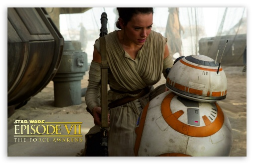 Star Wars Episode VIII - Rey and BB-8 ❤ 4K UHD Wallpaper for Wide 16:10 5:3 Widescreen WHXGA WQXGA WUXGA WXGA WGA ; 4K UHD 16:9 Ultra High Definition 2160p 1440p 1080p 900p 720p ; Tablet 1:1 ; iPad 1/2/Mini ; Mobile 4:3 5:3 3:2 16:9 - UXGA XGA SVGA WGA DVGA HVGA HQVGA ( Apple PowerBook G4 iPhone 4 3G 3GS iPod Touch ) 2160p 1440p 1080p 900p 720p ;
