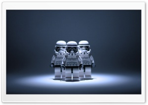 Star Wars Lego Stormtrooper HD Wide Wallpaper for Widescreen
