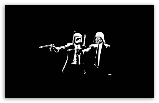 Star Wars Pulp Fiction HD wallpaper for Wide 16:10 5:3 Widescreen WHXGA WQXGA WUXGA WXGA WGA ; HD 16:9 High Definition WQHD QWXGA 1080p 900p 720p QHD nHD ; Standard 4:3 5:4 3:2 Fullscreen UXGA XGA SVGA QSXGA SXGA DVGA HVGA HQVGA devices ( Apple PowerBook G4 iPhone 4 3G 3GS iPod Touch ) ; Tablet 1:1 ; iPad 1/2/Mini ; Mobile 4:3 5:3 3:2 16:9 5:4 - UXGA XGA SVGA WGA DVGA HVGA HQVGA devices ( Apple PowerBook G4 iPhone 4 3G 3GS iPod Touch ) WQHD QWXGA 1080p 900p 720p QHD nHD QSXGA SXGA ;