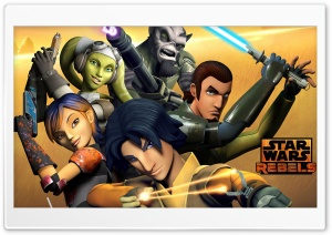 Star Wars Rebels Crew HD Wide Wallpaper for 4K UHD Widescreen desktop & smartphone