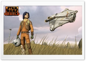 Star Wars Rebels Ezra HD Wide Wallpaper for 4K UHD Widescreen desktop & smartphone