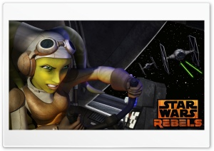 Star Wars Rebels Hera HD Wide Wallpaper for Widescreen