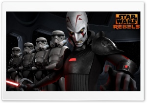 Star Wars Rebels Inquisitor HD Wide Wallpaper for 4K UHD Widescreen desktop & smartphone