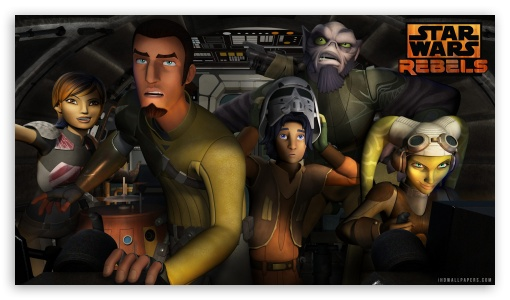 Star Wars Rebels Team Ultra Hd Desktop Background Wallpaper For 4k Uhd Tv