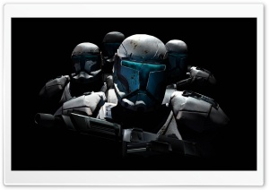 Star Wars Republic Commando HD Wide Wallpaper for Widescreen