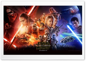 Star Wars The Force Awakens HD Wide Wallpaper for Widescreen