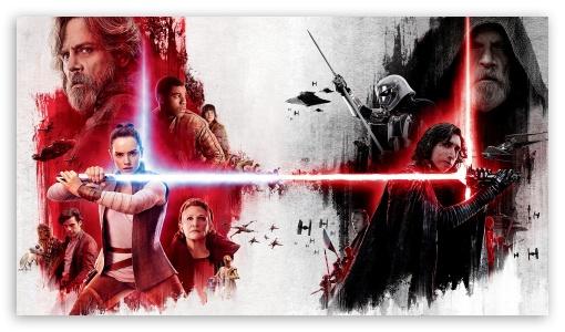 Star Wars The Last Jedi Poster Ultra Hd Desktop Background Wallpaper For 4k Uhd Tv Tablet Smartphone
