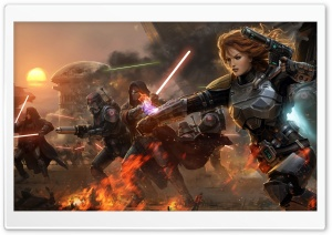 Star Wars The Old Republic HD Wide Wallpaper for Widescreen