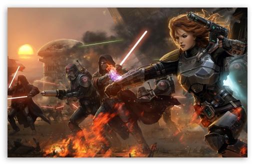 Star Wars The Old Republic Ultra Hd Desktop Background