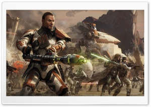 Star Wars The Old Republic Combat HD Wide Wallpaper for Widescreen