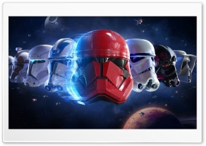 Star Wars Trooper Helmet Ultra HD Wallpaper for 4K UHD Widescreen desktop, tablet & smartphone