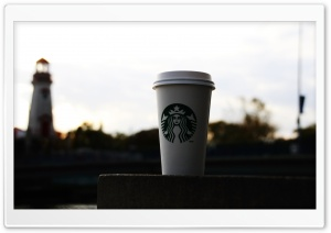 Starbucks HD Wide Wallpaper for 4K UHD Widescreen desktop & smartphone